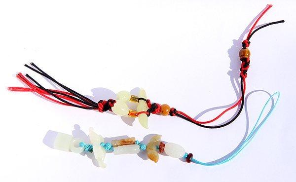 Chinese Jade/Hardstone Beads