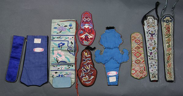 Chinese Embroidered Accessories - 2