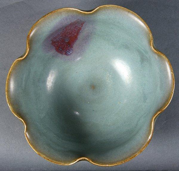 Chinese Jun-type Foliate Rim Bowl - 5