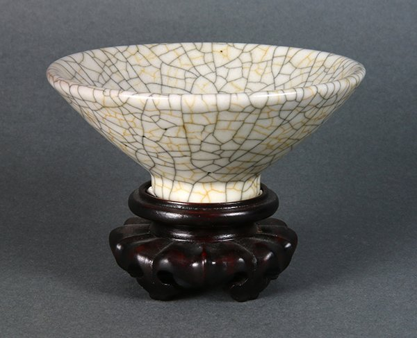 Chinese Ge-type Conical Bowl