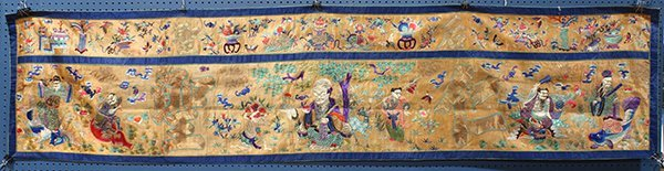 Chinese Daoist Textile Hanging