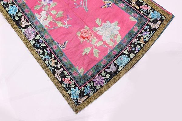 Chinese/Manchu Pink Ground Robe - 5