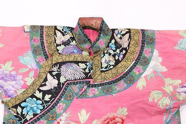 Chinese/Manchu Pink Ground Robe - 8