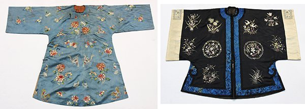 Two Chinese Embroidered Robes