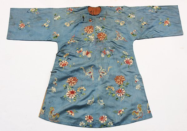 Two Chinese Embroidered Robes - 2