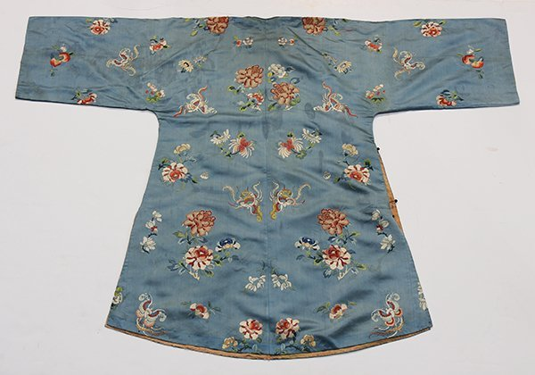 Two Chinese Embroidered Robes - 3