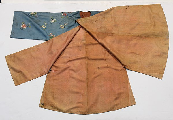Two Chinese Embroidered Robes - 5