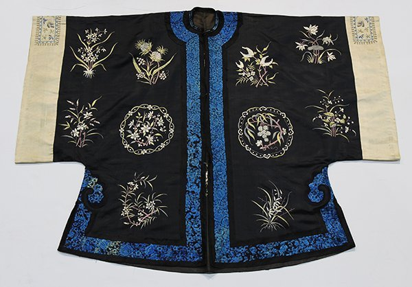 Two Chinese Embroidered Robes - 7