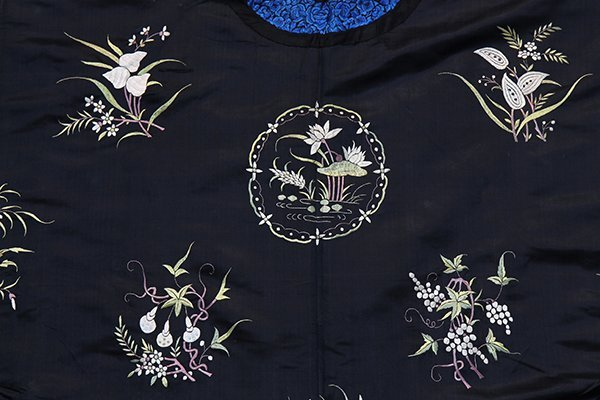 Two Chinese Embroidered Robes - 9
