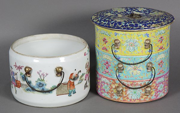 Two Chinese Porcelain Containers - 4