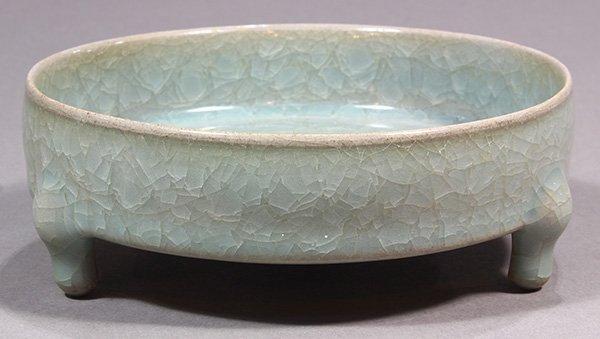 Chinese Ice Crackle Glaze Brush Washer