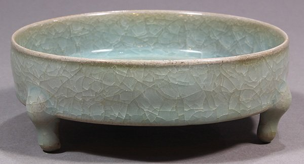 Chinese Ice Crackle Glaze Brush Washer - 2