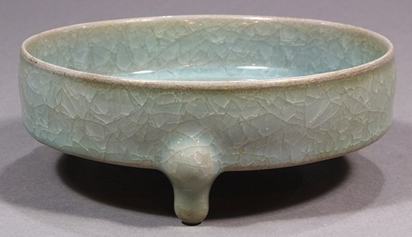 Chinese Ice Crackle Glaze Brush Washer - 3