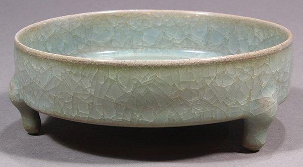 Chinese Ice Crackle Glaze Brush Washer - 4