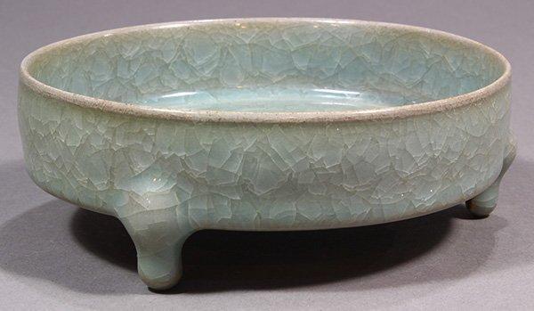Chinese Ice Crackle Glaze Brush Washer - 5