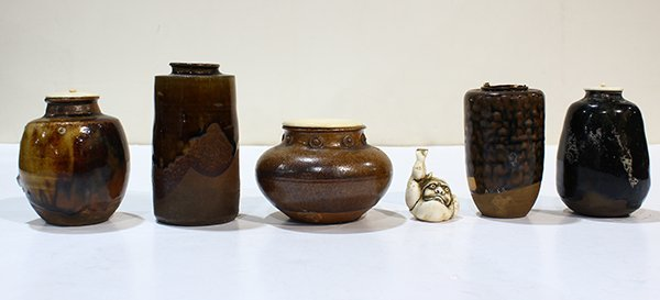 Japanese Tea Containers, Netsuke