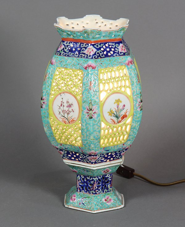 Chinese Porcelain Lantern/Lamp