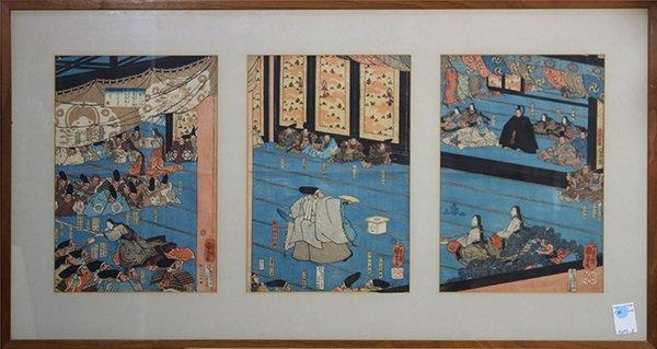 Ichiyusai Kuniyoshi (Japanese, 1797 – 1861), depicting