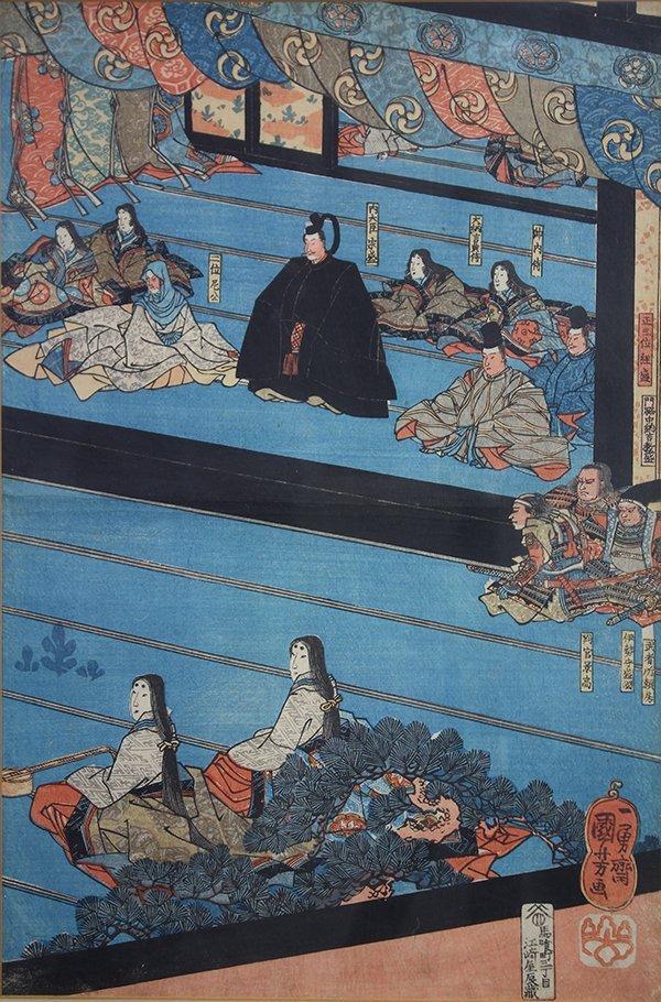 Ichiyusai Kuniyoshi (Japanese, 1797 – 1861), depicting - 2