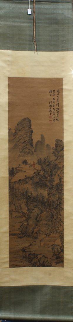 Chinese Landscape Scrolls - 2
