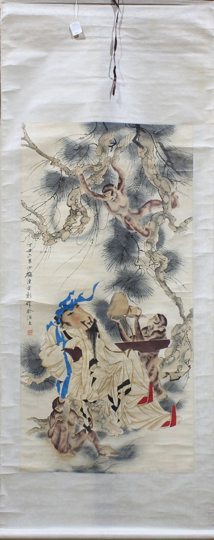 Chinese Scrolls, Animals - 2