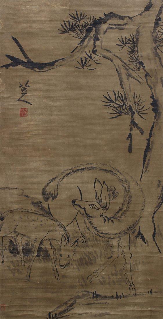 Chinese Scrolls, Animals - 4