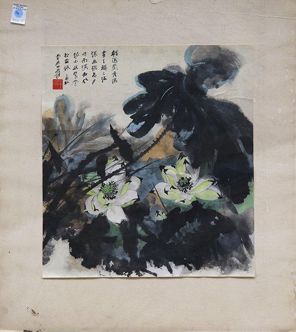 Chinese Print, Zhang Daqian