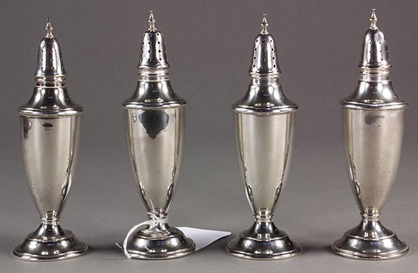 International Silver Company sterling silver shakers
