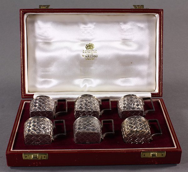 Russian .875 cordials in gift box, 5.50 troy oz.