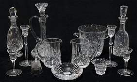 lot of 13 Waterford crystal group consisting of 3