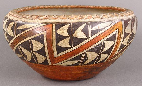 Native American Acoma pottery vessel