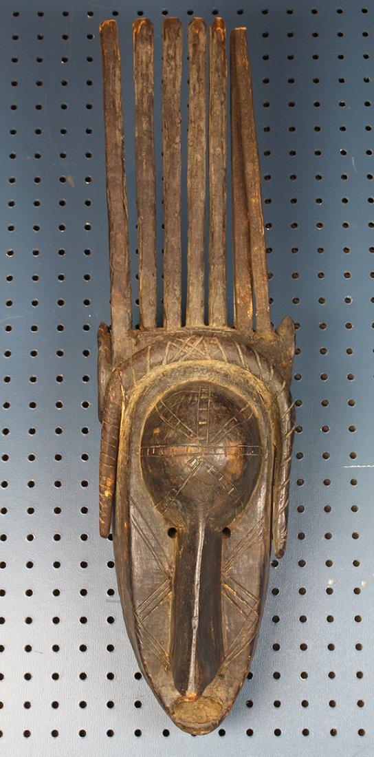(lot of 2) Ntomo mask, Bamana, Mali, probably made in