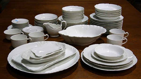 (lot of 71) Haviland Limoges partial and associated