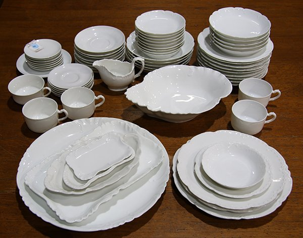 (lot of 71) Haviland Limoges partial and associated - 2