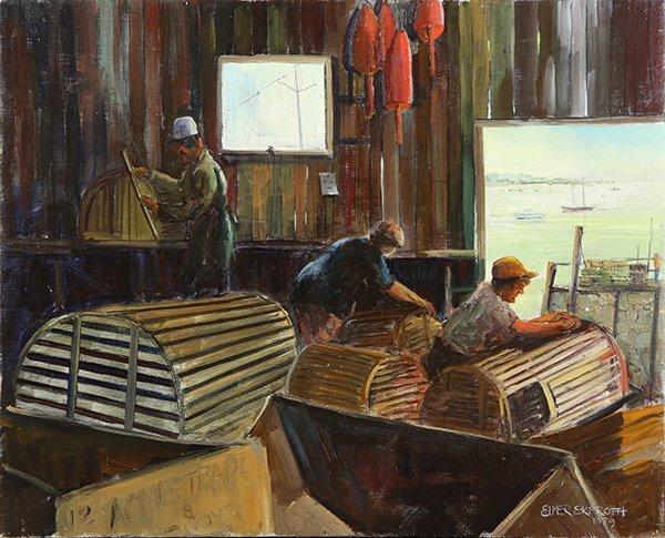 Painting, Elmer Ekeroth