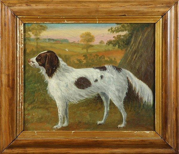 Painting, Irish Setter