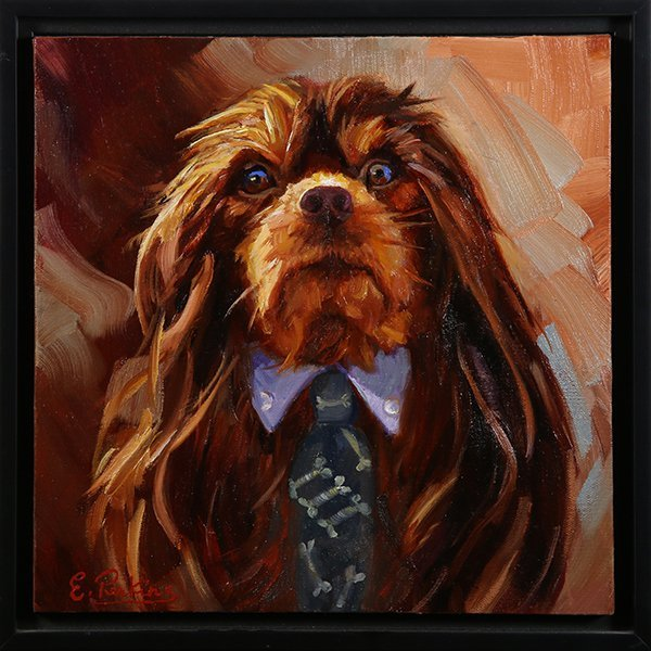 Paintings, King Charles Cavalier Spaniels