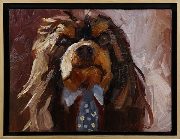 Paintings, King Charles Cavalier Spaniels - 2
