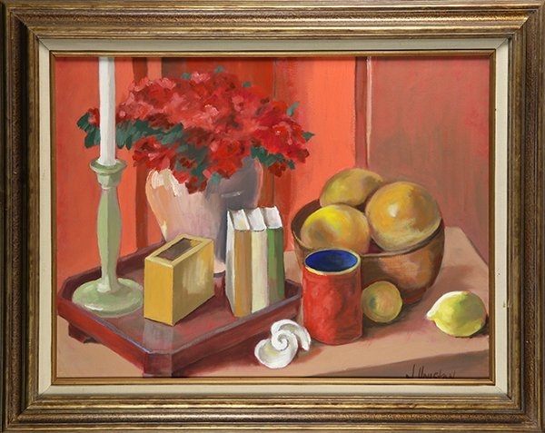 Still Life on a Table, painting