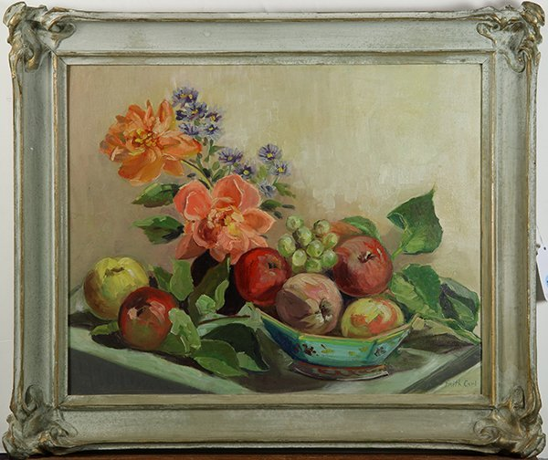 Still Life with Fruit and Flowers, painting