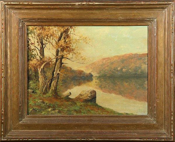 Alexander Converse Morgan, painting