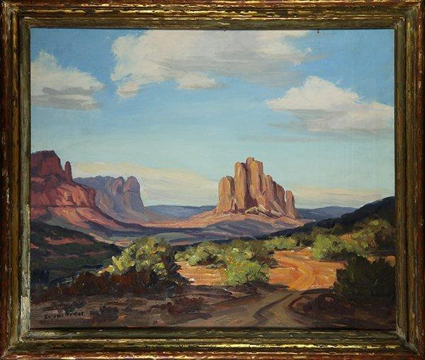 Eugene Dunlap painting