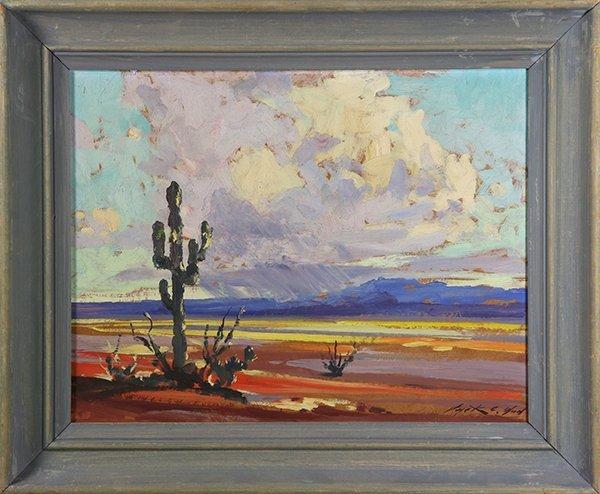Painted Desert, painting
