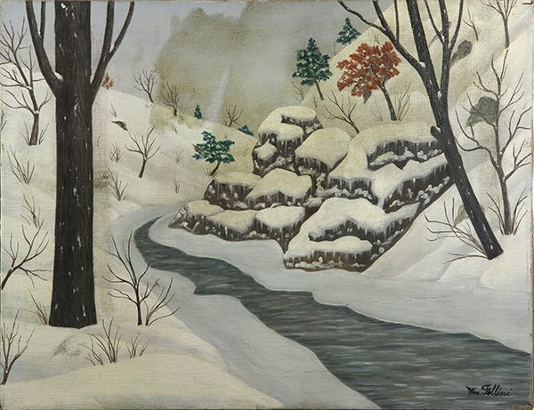 William Fellini, painting