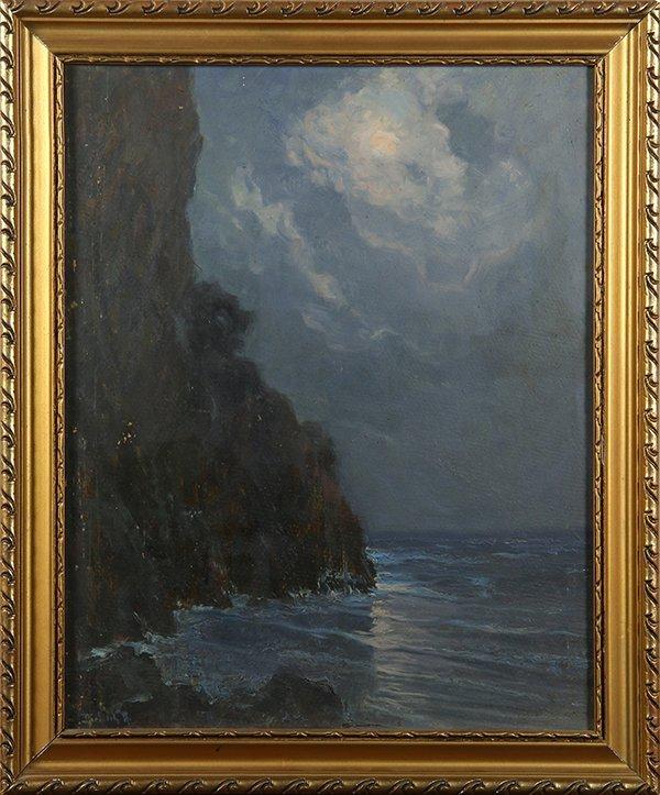 Hungarian School (20th century), painting.