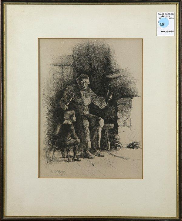 Edward Kemble, print
