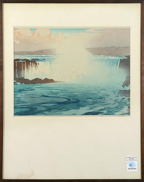 Hiroshi Yoshida, print