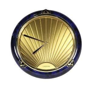 """Cartier """"Must de Cartier"""" lacquered and brass desk"""
