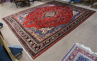 "Persian Meshed carpet 12'4"" x 10'4"""