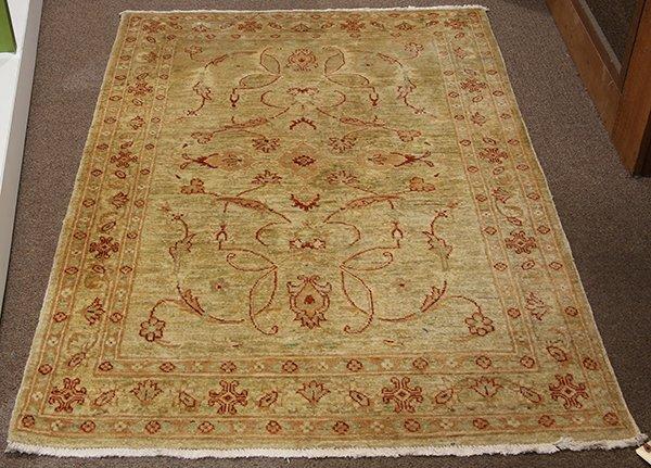 """Pakistani Oushak carpet 3'10"""" x 5'10"""""""